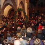 Christmas Lanterns - in the church 11.14