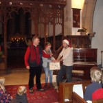 Christmas Procession - Rector in the Church 11.14