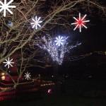 Christmas lights Rothbury 29.11.14