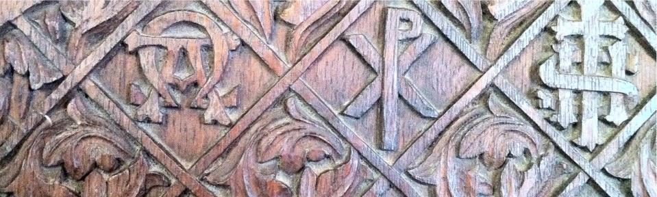Thropton Altar detail